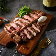 料理メニュー写真エイジングビーフのTボーンステーキ