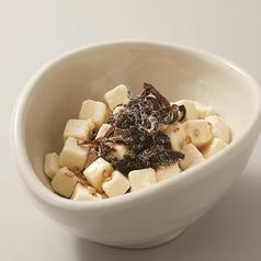 ごま油香る昆布クリームチーズ/にがり豆腐 冷奴