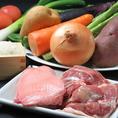 愛媛の地鶏や野菜を中心にしたお料理をご用意します!