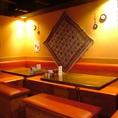 本格的な中東料理を楽しむならミドルミックス!インテリアにこだわったお洒落な店内は、女子会・デート・グループ宴会にもおすすめ♪東北・仙台初のケバブ