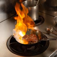 ディナーはメインディッシュの肉料理がおススメ!
