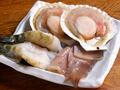 料理メニュー写真七輪焼海鮮盛