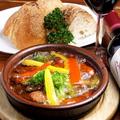 料理メニュー写真チョリソー&キノコ&彩り野菜/ぷりぷりエビ