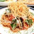 料理メニュー写真トマトの冷製パスタ