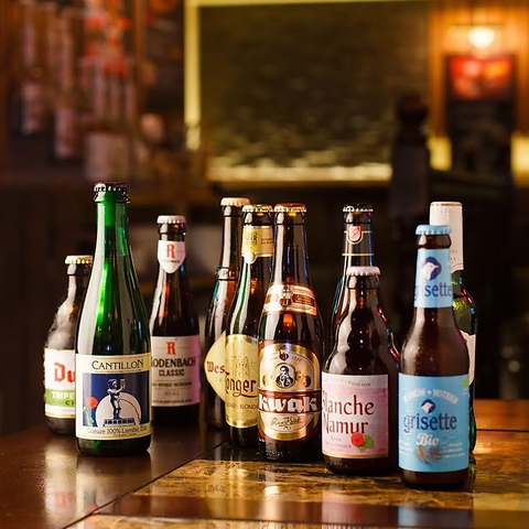 【麦酒専門店】ベルギービールは160種類!本当のビールの美味しさに巡り会えるお店☆