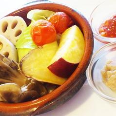 自家製バーニャカウダーwith温野菜