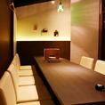 ◆完全個室完備◆少人数様から団体様まで、様々なシーンに対応いたします。