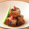 料理メニュー写真牛肉と茄子の甘辛煮