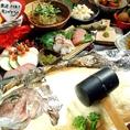 野菜ブーケ&鯛の塩釜焼き付歓送迎会コース