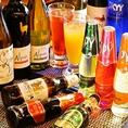 タイのビールはもちろん、カクテルも豊富にご用意しております!