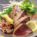 料理メニュー写真高知漁師飯 かつおわら焼き
