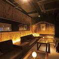 【VIPソファーシート】6~16名様個室。芸能人御用達のソファータイプのお部屋です。《要予約》