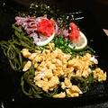 料理メニュー写真瓦そば(茶そば)