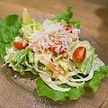 料理メニュー写真ずわい蟹のタルタルサラダ