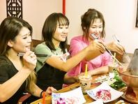 女子会に◎曜日限定の食べ放題や女子会コースが◎