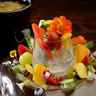 燕三条野菜のバーニャカウダ