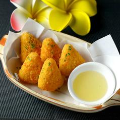 料理メニュー写真カマンベールチーズフライ(テイクアウト可)