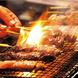 炭火で焼き上げる串料理!