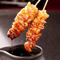 毎日直送される肉を丁寧に手打ち!きむらやの博多串焼き
