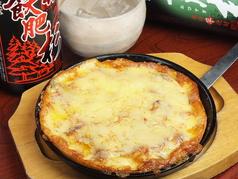 料理メニュー写真たっぷりチーズチヂミ