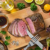 四季折々の厳選食材と使用した逸品料理をご提供!