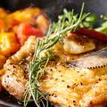 料理メニュー写真あべ鶏の岩塩焼き