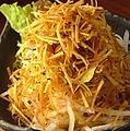 料理メニュー写真パリパリさつまいもの大根サラダ