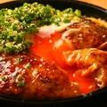料理メニュー写真つくね鉄板焼(タレor塩)