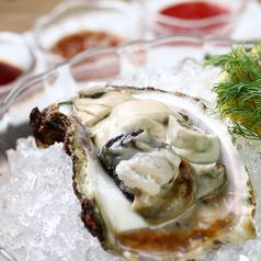 旬の生牡蠣 ~3種類のソースで~