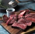 料理メニュー写真熟成肉の網焼き