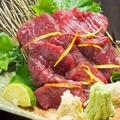 料理メニュー写真馬刺し(高知産・春野)