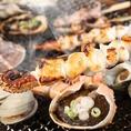 牡蠣をはじめとする新鮮な海鮮を目の前の網で焼いて頂くシステムです!かき小屋ですが、その他の海鮮も大ぶりで食べごたえ十分です!!