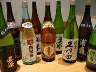 お寿司と日本酒と・・・
