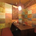 【2F】広々とした完全個室