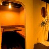テーブル席もご用意☆ゆったりくつろげて飲めるのが◎~水炊き・焼鳥 とりいちず 五反田西口店~