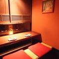 祇園7卓  横並び掘りごたつ個室