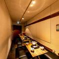 人気の半個室は少~大人数のご宴会に対応可。最大17名様までOK!ほんの少し離れた席を足して20名様弱も可!