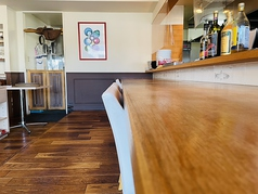 カウンター席をキッチンを見ながらお食事をお愉しみ頂けます!