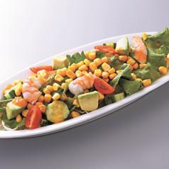 カラフルサラダ(すりおろし野菜ドレッシング)