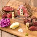 料理メニュー写真塊牛ステーキ 3種のブッチャーズプレート