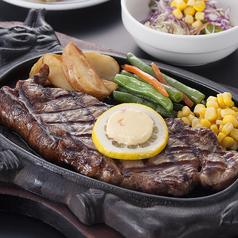 料理メニュー写真特上サーロインステーキ 230g