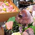 毎月内容の変わるコースは、季節の食材を味わってほしいという想いから…。