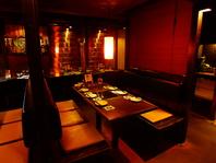 <二子玉川で宴会>落ち着いた雰囲気。最大60名まで貸切。