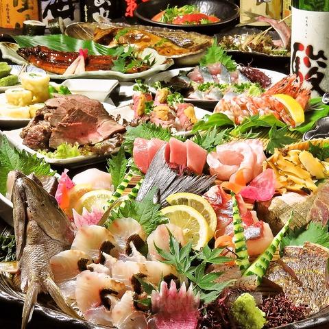 卸直営店だからこそ低価格で上質かつ鮮度抜群の海鮮類を自信を持ってご提供!!