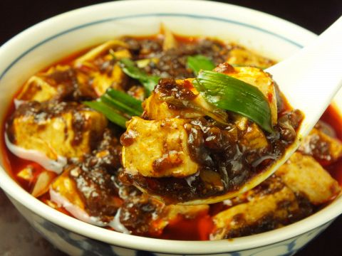 豆腐 陳 マーボー