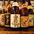 宴会+500円で地焼酎、日本酒が飲放題に!