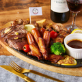 料理メニュー写真特製肉盛りプレート
