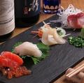 料理メニュー写真お刺身盛り合わせ (4種盛り)