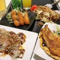 料理メニュー写真大阪城セット