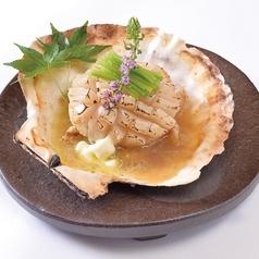 料理メニュー写真特大帆立貝バター焼き(1個)